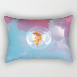 Fishy dreams Rectangular Pillow