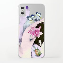 Aquarius Clear iPhone Case