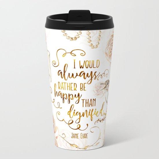 Jane Eyre - Dignified Metal Travel Mug