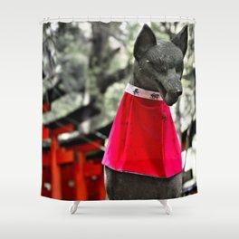 Inari Kami Shower Curtain