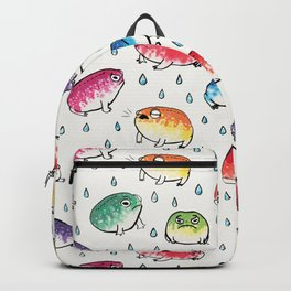 Round Rain Frogs Backpack