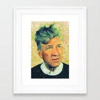 lynch Framed Art Prints featuring Lynch by Taylan Soyturk