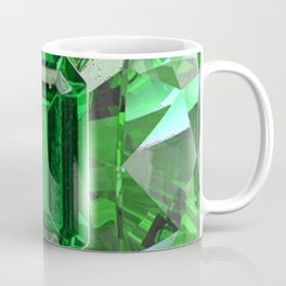 EMERALD GREEN MAY BIRTHSTONES ART Coffee Mug