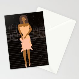 Paper Doll by Kimberly J Graphics Stationery Cards