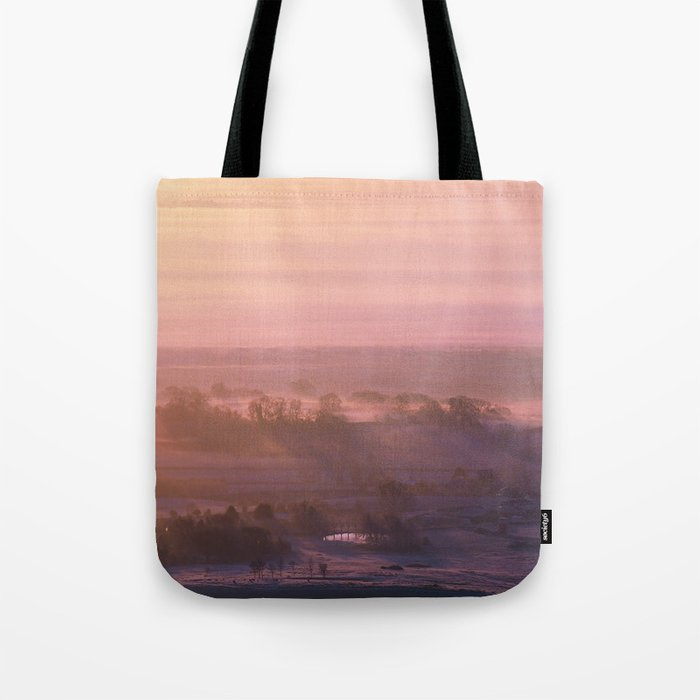 Edge of the Morning Tote Bag