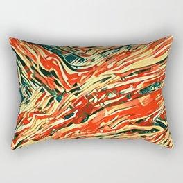 abstract paint art Rectangular Pillow