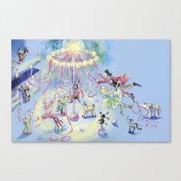 Toy Circus Performance Canvas Print