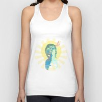 water color Tank Tops featuring water color by THE83JUICE