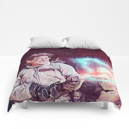 Egon Battling Gozer With The Ghostbusters Comforters