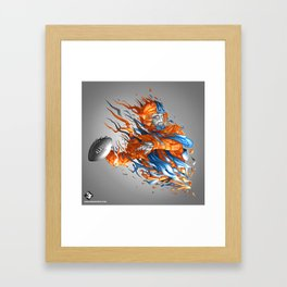 Superbowl XLVIII- Broncos Framed Art Print