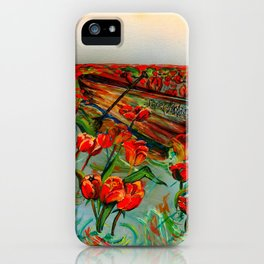 Toss the Anchor iPhone Case