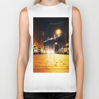 dumbo Biker Tanks featuring Dumbo, Brooklyn by Dominique Weber