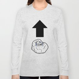 Forever Alone Long Sleeve T-shirt