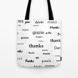 Thanks for living Tote Bag