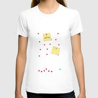 write T-shirts featuring Write Here by Shu | Formanuova