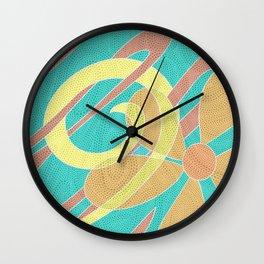 Bright Bloom  Wall Clock