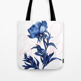 #blue #rose Tote Bag