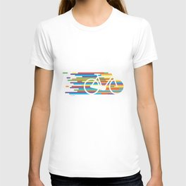 Colorful bicycle 1 T-shirt
