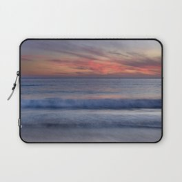 Magical Waves. Square.  Tarifa Beach At Red Sunset Laptop Sleeve