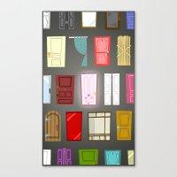 doors Canvas Prints featuring Doors by Derek Temple