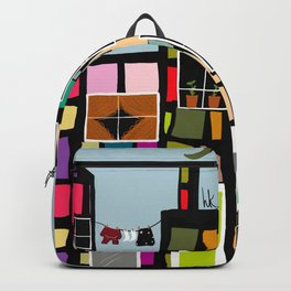 At Home In The City Backpack