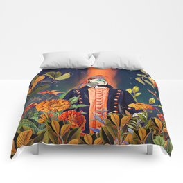 Floral Puffin Comforters