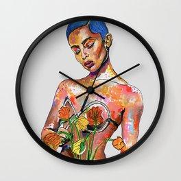 Zoe Kravitz Wall Clock