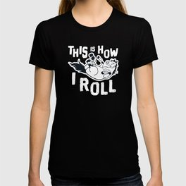 This Is How I Roll Cute Horse For Equestrian Lover T-shirt