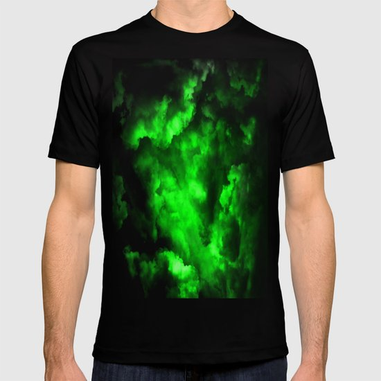 Envy - Abstract In Black And Neon Green by printpix