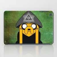 jake iPad Cases featuring Jake Crowley by Conversa entre Adeptus