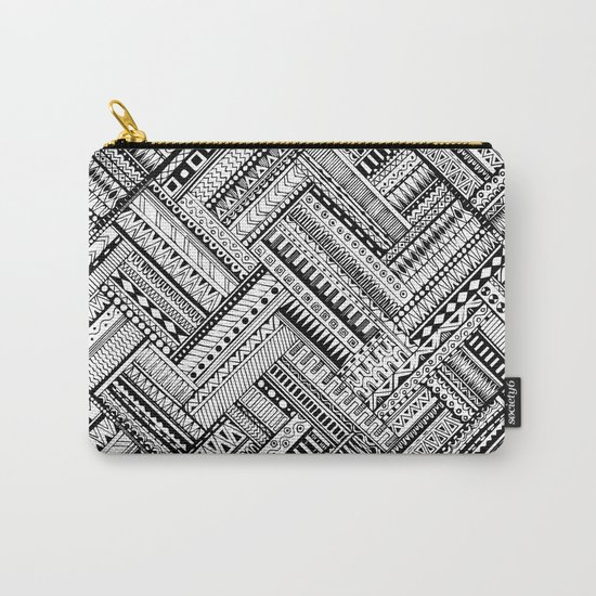 Urban Texture Carry-All Pouch