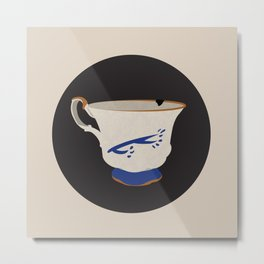 The Chipped Cup Metal Print