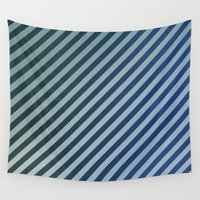 stripes Wall Tapestries featuring Stripes by David Zydd