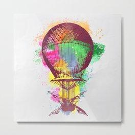 AP109 Hot air baloon Metal Print
