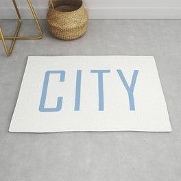 City Powder Blue Rug