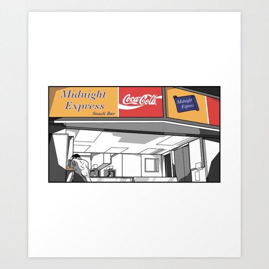 Midnight Express Art Print