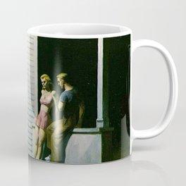 Summer Evening - Edward Hopper Coffee Mug