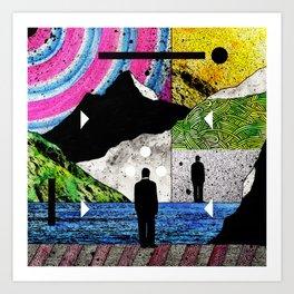 #002 Art Print