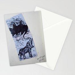 Greasy Elephant Stationery Cards