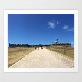 San Felipe del Morro Fortress Art Print