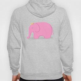 Queen Pink Elephant Hoody