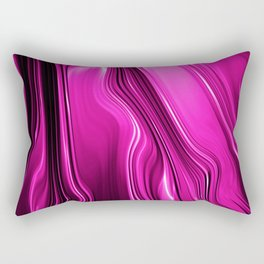 Streaming Pink Rectangular Pillow