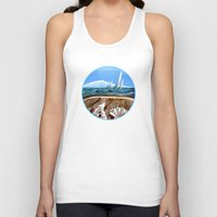 geology Tank Tops featuring The Geology of Boating by Patricia Howitt