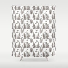 Delicate Ferns Shower Curtain