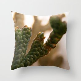 Resurrection moss Throw Pillow