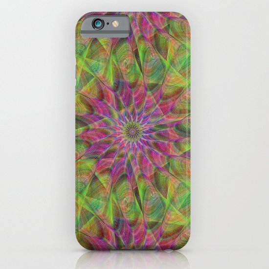 Fractal pattern iPhone & iPod Case