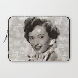 Barbara Stanwyck, Hollywood Legend Laptop Sleeve