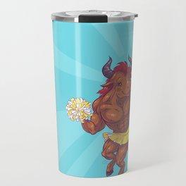 Minotaur Cheer Travel Mug