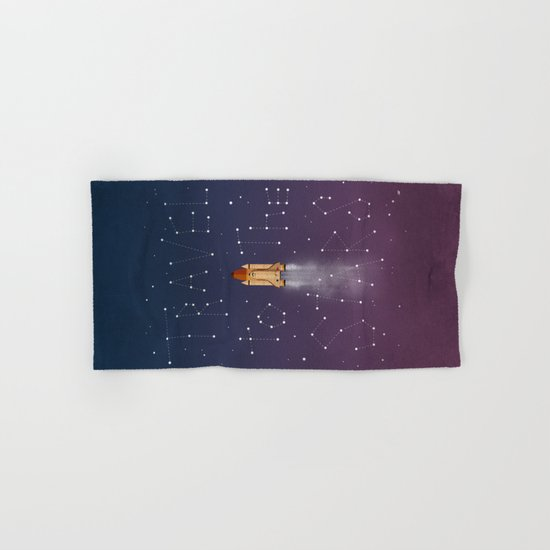 Travel to the Stars Hand & Bath Towel