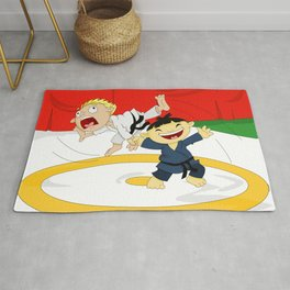 Olympic Sports: Judo Rug